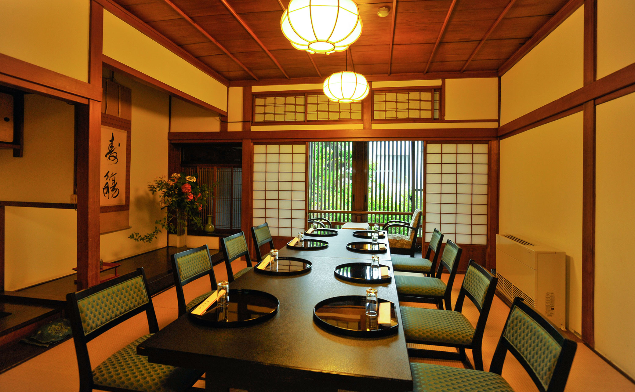 Old building Japanese-style room